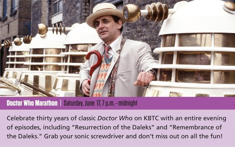 Doctor Who Marathon on KBTC (17 Jun 2017) (Credit: KBTC)